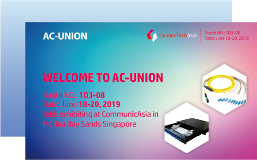 ConnecTechAsia2019 Singapore International Communications and Information Technology Exhibition